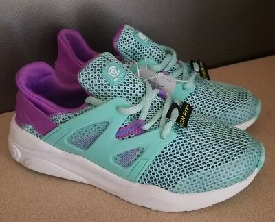 dbfd58af867 C9 champion Cushion Fit Youth Girls Running Shoes Turquoise Purple size 3