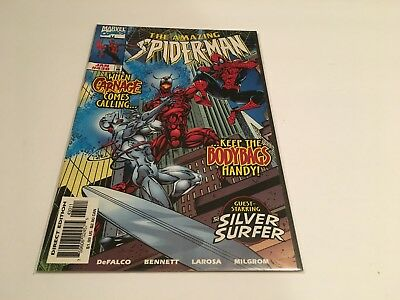1998 Marvel Comics Amazing Spider-Man # 430 CARNAGE Silver Surfer Low Print Run