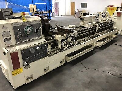 "Mazak Heavy Duty 24-120 Engine Lathe. 24""x120"""