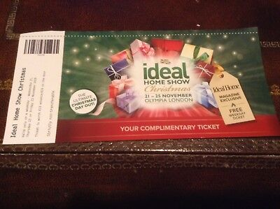Ideal Home Ticket Christmas