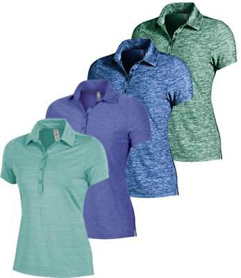 6a8b41f5 Under Armour Women's Zinger Heather Polo Golf Shirt New - Choose Color &  Size