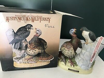 Wild Turkey Decanter Full And Sealed With Original Box