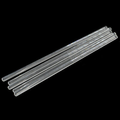 5 pcs Glass Stirring Rod for Lab Use Stiring Stirrer Laboratory Transparent Tool