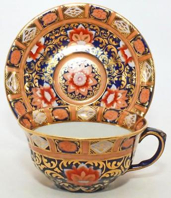 Rare Victorian Gilded Mason's Imari Pattern Antique Porcelain Cup & Saucer