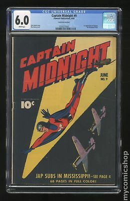 Captain Midnight #9 1943 CGC 6.0 1350271003