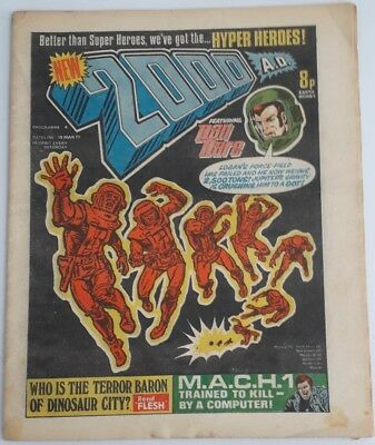 2000AD Comic No 4 Issued 19 March 1977