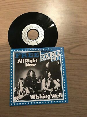 "7"" Single: Free - All Rgiht Now / Wishing Well"
