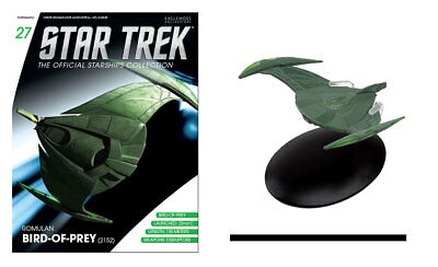 Star Trek Romulan Bird-of-Prey (2152) with Collectible Magazine #27 by Eaglemoss