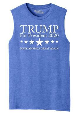 5c237caff94b83 Mens Trump For President 2020 Muscle Tank Politics Political Elections Shirt