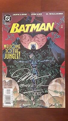 BATMAN #611 - SIGNED 3x JIM LEE,SCOTT WILLIAMS & ALEX SINCLAIR !!! HUSH part 4 !
