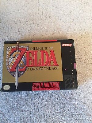 The Legend Of Zelda A Link To The Past  Snes Super Nintendo Snes Complete In Box