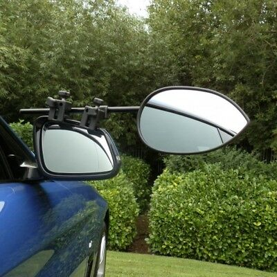 Milenco Aero3 Extra Wide Towing Mirrors - Pair