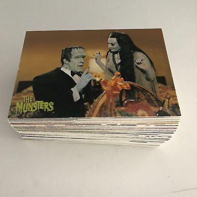 THE MUNSTERS SERIES 1996 DART COMPLETE 90 Trading CARD SET  TV