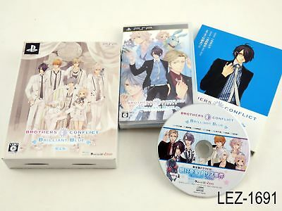 Brothers Conflict Brilliant Blue Limited Edition PSP Japanese Import US Seller
