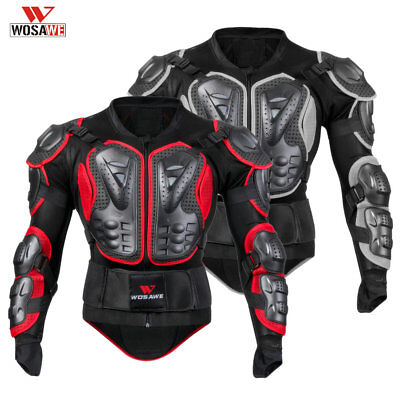 Full Body Protective Gear Motorcycle Motocross Armor Jacket Guard Racing Chest