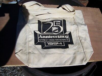 1994 NSRA 25th Anniversary Tote Bag. New, Never used