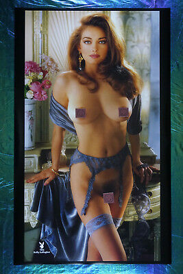 1994 Playboy Magazine Rare Kelly Gallagher Collector Poster 22X36 OOP  NEW  94KG