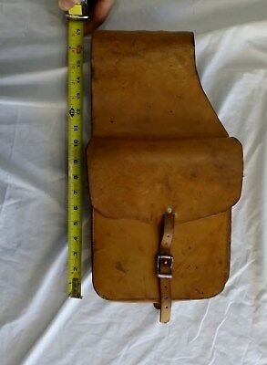 Vintage Saddle Dept. Pioneer Tent & Awning Co. Saddle Bags Boise Id.