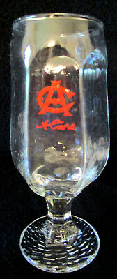 Coors Beer Glasses 1970's  Red AC Lettering on Front    Set of 6
