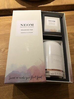 BNWT NEOM Wellbeing POD - Essential Oil Diffuser   A  Must  HAVE    SOLD  OUT