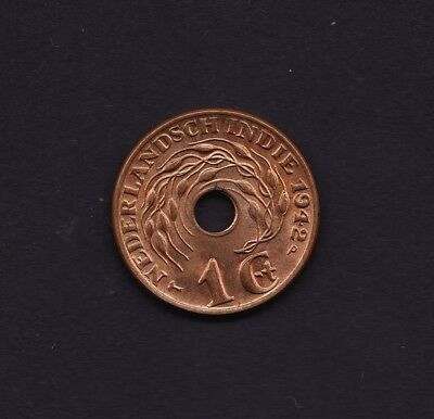 Netherland Indies 1 Cent 1942 Coin
