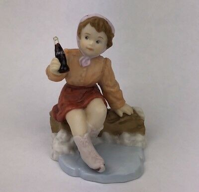 Enesco Coca Cola Simpler Days You Surprise Me At Every Turn Figurine