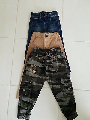 Size 3 BOYS ASSORTED PANTS