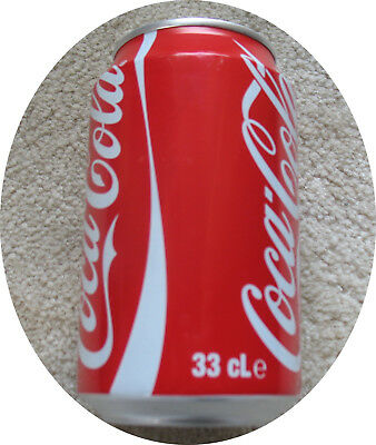 COCA COLA can - Dose   ** FRENCH - GUAYANA**   full