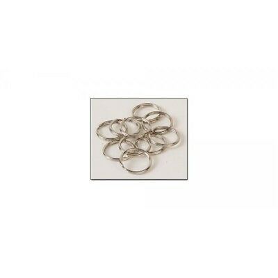 "Split Rings 5/8"" (14mm) - Nickel Plate Finish - Nickel Free - Pack Of 10"