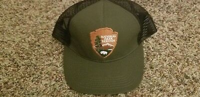 National Park Service  Nps Green Hat With Arrowhead