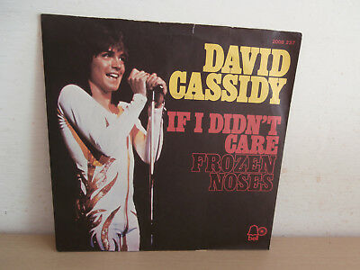 7 inch Vinyl         DAVID CASSIDY                ***IF I DIDN´T CARE***
