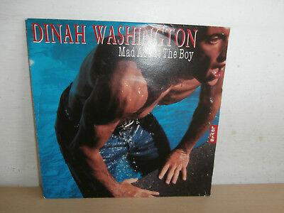 7 inch Vinyl         DINAH WASHINGTON                ***MAD ABOUT THE BOY***