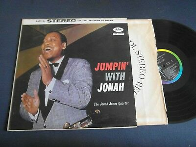 Lp   Jonah Jones Quartet  -  Jumpin`with Jonah  (Orig.1958 Us-Press Rar)  Vg