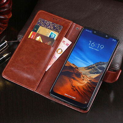 For Xiaomi Pocophone F1/A3 A2 Lite/Redmi Note 8 7 Leather Wallet Flip Case Cover