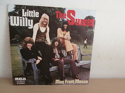 7 inch Vinyl         THE SWEET                   ***LITTLE WILLY***