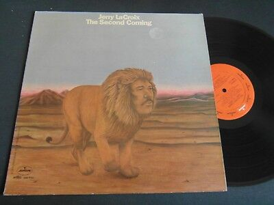 Lp   Jerry La Croix  -  The Second Coming  (Orig.1974 Us-Press Rar)  Ex