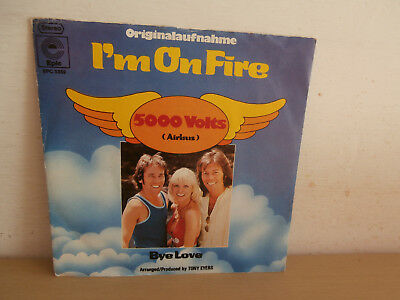7 inch Vinyl         5000 VOLTS                   ***I´M ON FIRE***