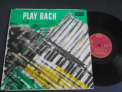 Lp   Jacques Loussier  -  Play Bach No.2  (1970 German-Press)  Ex