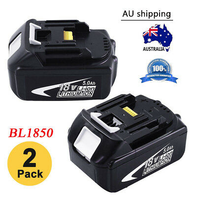 Replace for Makita BL1850 18V Li-ion Battery 5000mAh BL1860 BL1830 BL1840 BL1850