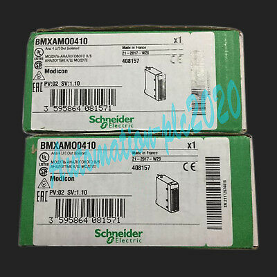 1PC New In Box Schneider PLC module BMXAMO0410 One year warranty