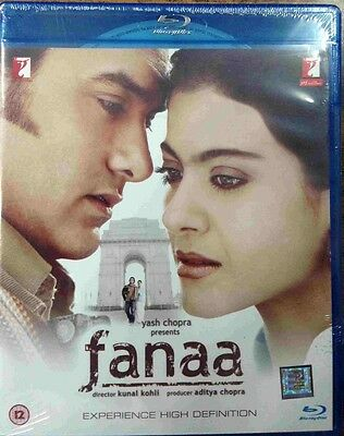 Fanaa Blu-Ray - Aamir Khan, Kajol - Bollywood Movie Special Edition Bluray