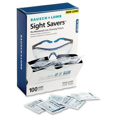 Bausch Lomb Sight Savers Safety Pre-Moistened Cleaning Lens Glass Plastic Tissue