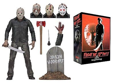 """Friday the 13th Part 5 Ultimate """"Dream Sequence"""" Jason Vorhees 7"""" figure (NECA)"""