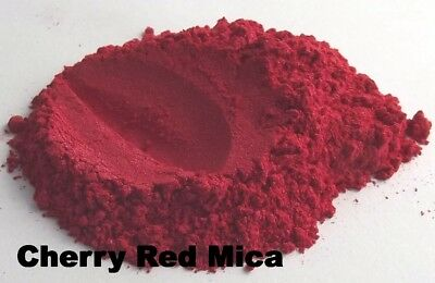 Red Mica Loose Powders Cosmetic Grade Homemade D.I.Y. Makeup Blush Lipsticks