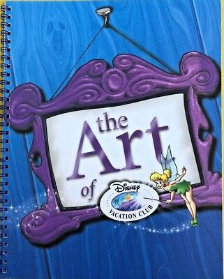 The Art of Disney Vacation Club Calendar Notebook New January- December ANY YEAR