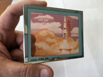 Apollo Moon Project Glass Slides