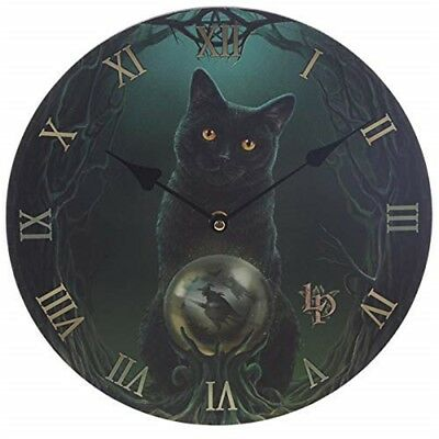 Lisa Parker Rise Of The Witches Cat Picture Clock