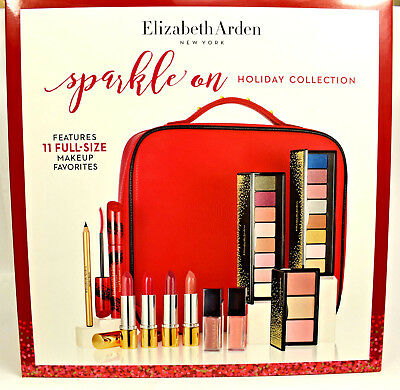 Elizabeth Arden  Cosmetics  Sparkle On Holiday Collection  Make Up Gift Set  NEW