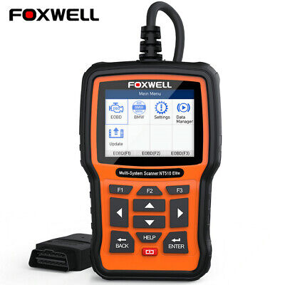 Foxwell NT520 For GM CHEVROLET GMC Diagnostic Scanner ABS SRS DPF BMS Scan Tool