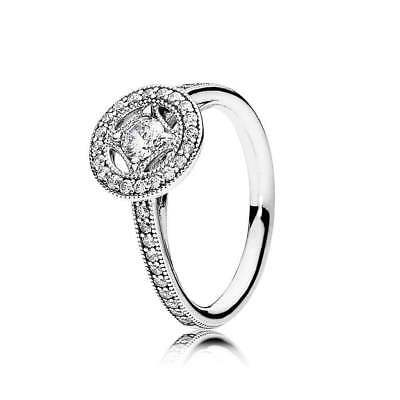 fc2910c3d NEW! AUTHENTIC PANDORA Vintage Allure Clear CZ Ring #191006CZ-48 ...